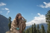 Alia Bhatt Shooting for   Highway at Aru Valley, Kashmir, 12-05-2013