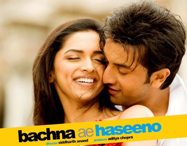 Ranbir Kapoor and Deepika Padukone in a still from Bachna Ae Haseeno