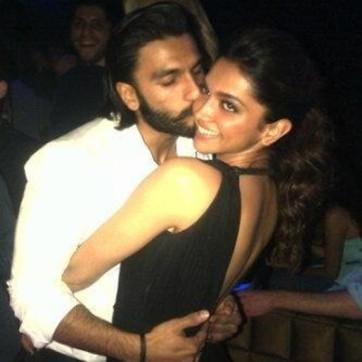 Deepika on a casual date with co-star Ranveer Singh at Dubai