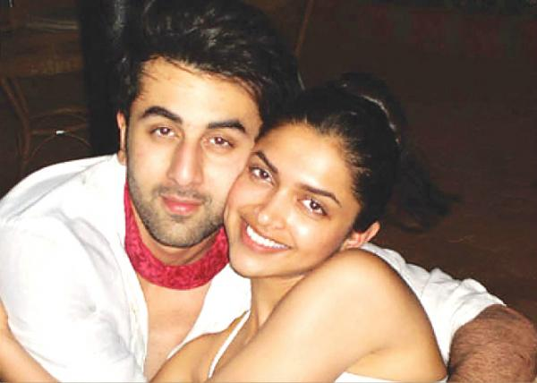A candid picture of Deepika and Ranbir Kapoor picture taken on the phone of one of their common friends when they were dating