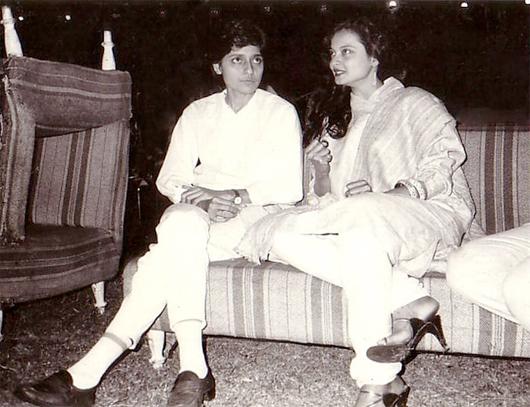 Rekha and farzana