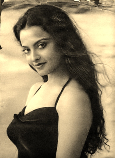 Rekha rare pictures