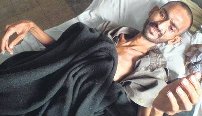 Ravindra Patil just days before his death