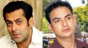 Salman Khan and Ravindra Patil