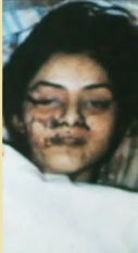 police photo of her deadbody