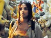 Vidya Balan in Kahaani. One of the rare superhit films where a heroine plays the lead.