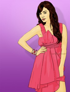 actress cartoon