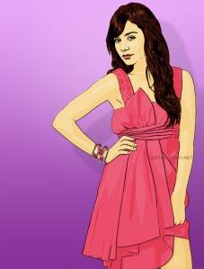 actress cartoon