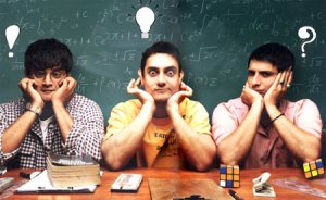 Bollywood examination three idiots