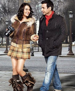 A still from the film, Ishq in Paris, that bombed at the box office