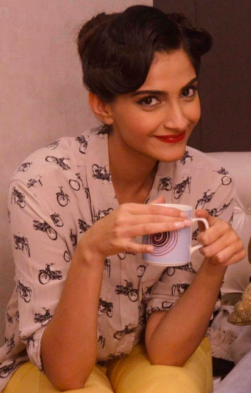 Actress Sonam Kapoor on 23rd September 2013.
