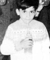 SRK (in class IV) at a school function