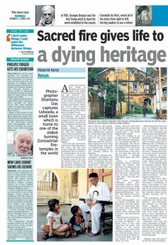 The Asian Age on 2nd April 2012.