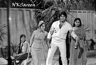 Amitabh at Namak Halal shoot 2