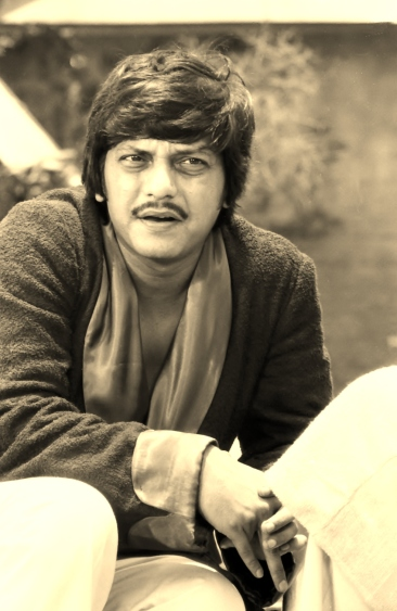 Amol Palekar shooting for the climax scene of Plot Number 5