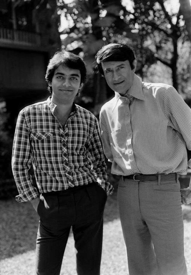 Dev and Sunil anand