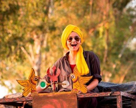 Alia in a Sardar's costume