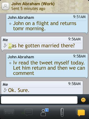 John message