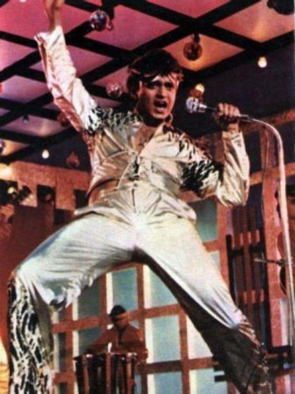 Mithun in the film Disco Dancer