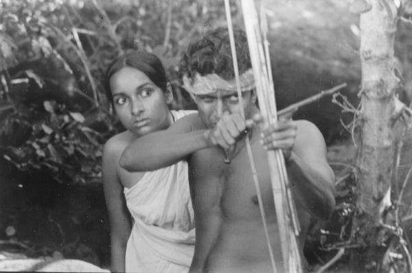 Mithun in a still from Mrinal Sen's 'Mrigaya'