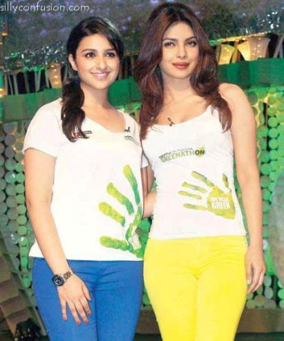 An earlier picture of Parineeti with her cousin sister Priyanka