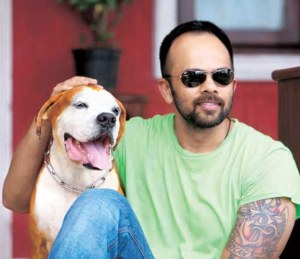 Rohit Shetty with his pet dog, Facebook