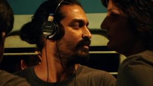 Director Raja Menon on location