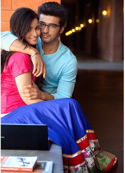 Alia Bhatt and Arjun Kapoor in '2 states'