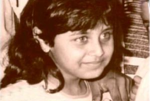 Rani, when she was five years old.