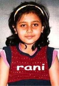 Rani when she was five years old