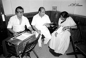 Asha with RD and Rafi