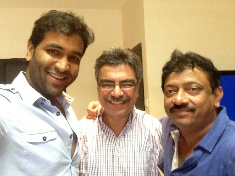 khalid selfie with RGV