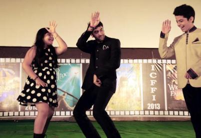 Ranbir Kapoor at the Children's Film Festival, Hyderabad in 2013