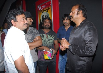 Sobering influence: with Dr Mohan Babu