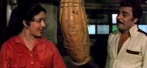 Sudhir with Hema Malini in 'Satte Pe Satta'