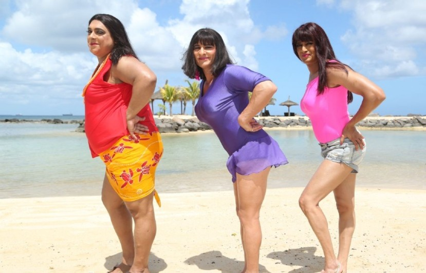 Ram Kapoor, Saif Ali Khan and Riteish Deshmukh in 'Humshakals'