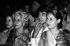 Teji Bachchan, Amitabh and Jaya Bachchan