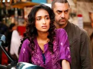 Jiah with Aamir Khan
