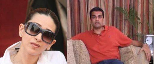Karisma Kapoor and Sandeep Toshmiwal