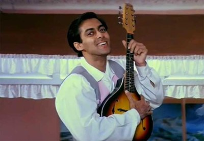 Salman Khan in Hum aapke Hain Kaun