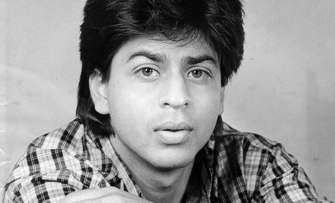 Shah Rukh Khan during that period when supposedly used to sleep on a bench and borrow Rs 20 everyday from a friend to reach Film City