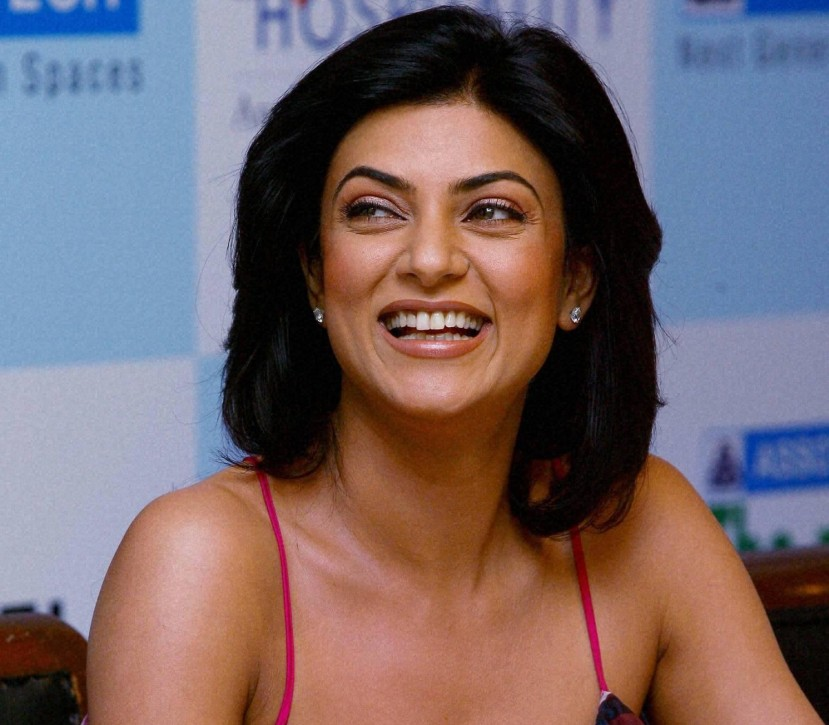 Sushmita Sen photographed in 2010
