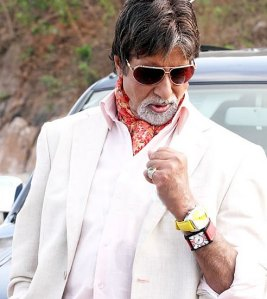 Amitabh Bachchan likes to wear two watches at a time