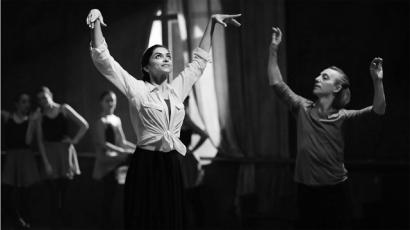 Deepika Padukone learning ballet