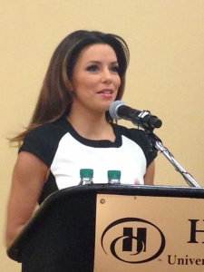 eva longoria speaking