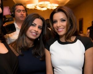 Ruchi with Eva Longoria