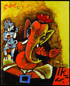 Limited edition print of Lord Ganesha