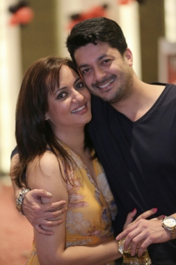 Jisshu and Nilanjanaa in 2014. Picture by Rana Basu Thakur