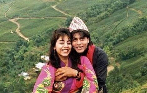 Srk and Gauri in Ooty