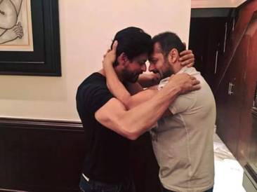 The picture that broke the internet yesterday. The Khan hug!
